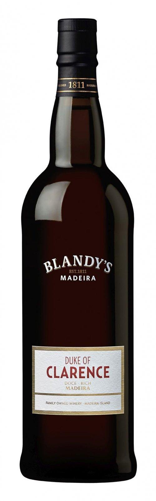 Blandy's Madeira Duke of Clarence Rich 0,75L, fortvin, bl, sl