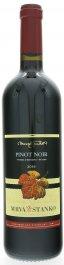 Mrva & Stanko Pinot Noir (Rulandské modré), Čachtice 0,75L, r2016, vzh, cr, su
