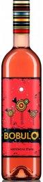 Karpatská Perla BOBULO hroznový mošt růžový 0,75L, r2019, hm, ruz, sl