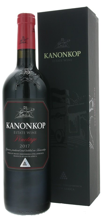 Kanonkop Pinotage Black Label 0.75L, r2017, cr, su, DB