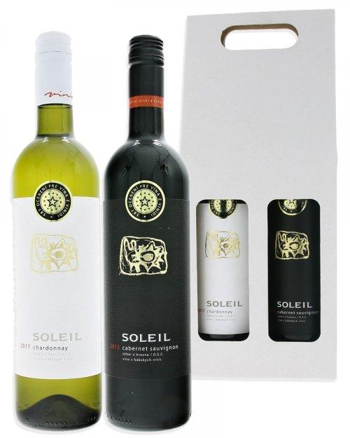 Vinidi Balíček Vinidi - 2 vína + dárkové balení 1,5L, vin, DB