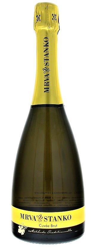 Mrva & Stanko sekt Cuvée Brut 0,75L, r2016, skt, bl, brut