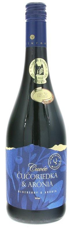 Miluron Cuvée - Čučoriedka & Arónia 0,75L, ovvin, cr, plsl
