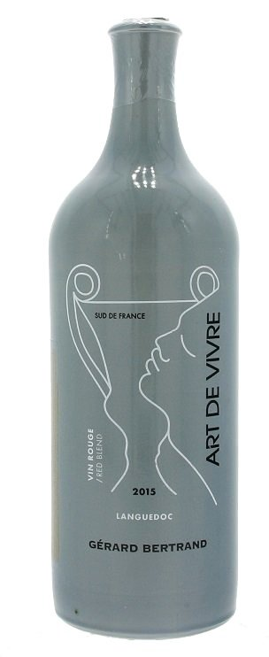 Gerard Bertrand Art de Vivre Languedoc  Vin Rouge 0,75L, AOP, r2015, cr, su