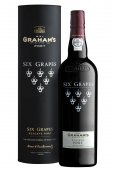 Graham´s Six Grapes Reserve Port 0,75L, fortvin, cr, sl, tuba