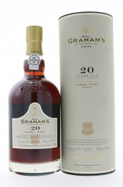 Graham´s 20 Y.O. Tawny Port 0,75L, fortvin, cr, sl, DB