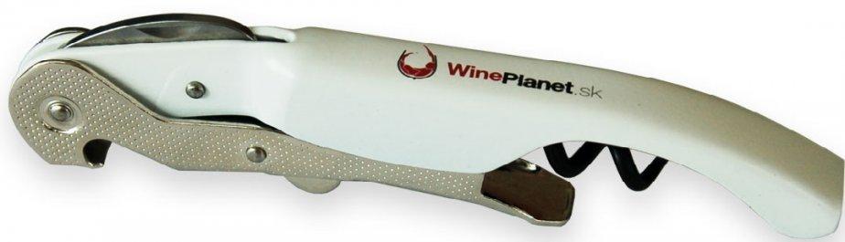 Pulltex Pulltex Pullparrot - bílá vývrtka s logem WinePlanet