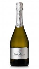 Pavelka Sekt Blanc de Blancs Brut 0.75L, r2013, skt trm, bl, brut