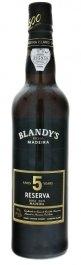 Blandy's Madeira Reserva 5 Y.O. Doce Rich 0.5L, fortvin, bl, sl