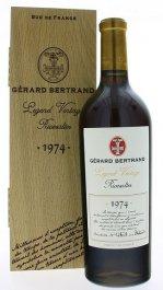 Gerard Bertrand Legend Vintage Rivesaltes 0,75L, AOC, r1974, fortvin, cr, sl, DB