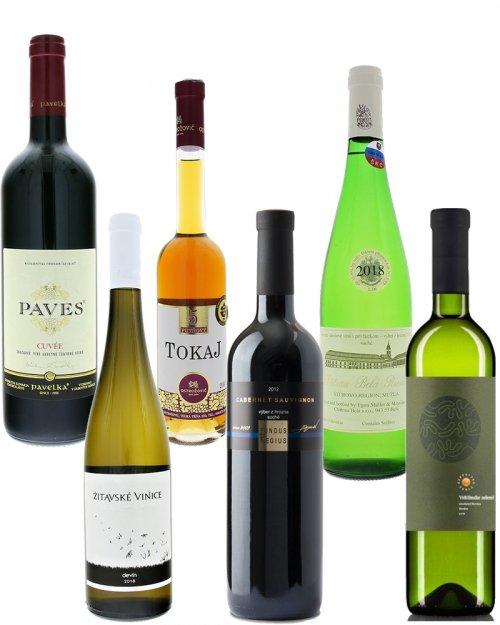 Balíček Top slovenská vína,mix