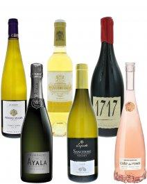 TOP vína Francie,mix