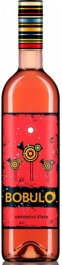 Karpatská Perla BOBULO hroznový mošt růžový 0.75L, r2020, hm, ruz, sl, sc