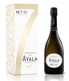 Ayala Brut N7 0.75L, AOC, r2007, sam, bl, su, DB