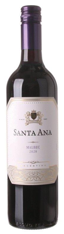 Santa Ana Malbec 0.75L, r2020, cr, su, sc
