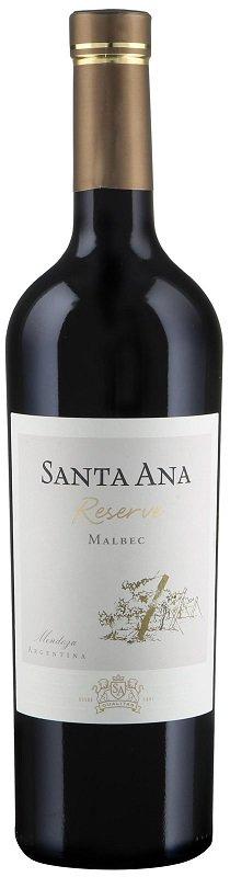 Santa Ana Reserve Malbec 0.75L, r2019, cr, su