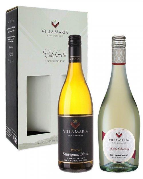 Villa Maria Balíček Villa Maria, 2 vína + dárkový box zadarmo