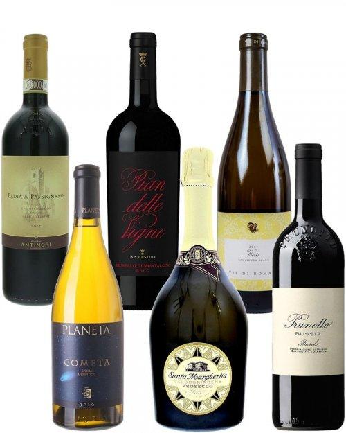 Balíček Vína z Itálie pro náročné
