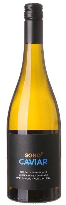 Soho Caviar Sauvignon Blanc 0.75L, r2019, bl, su, sc