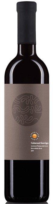 Karpatská Perla Cabernet Sauvignon 0.75L, r2017, vin, cr, su